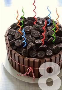 Kit Kat Birthday Cake Oreo
