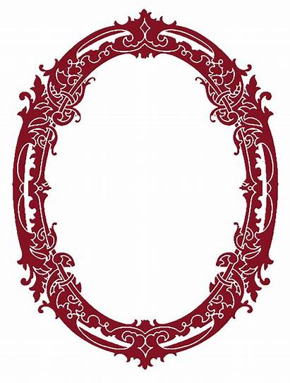 Frames Clip Christmas Silhouette Stunning Graphics Oval