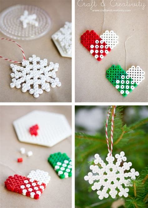 50 wonderful and simple diy christmas tree decorations you ll love making page 2 of 3 cute