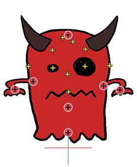 import psd files  create cartoon characters cta