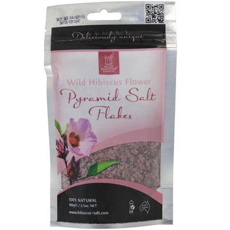 wild hibiscus flower pyramid salt gourmet food store