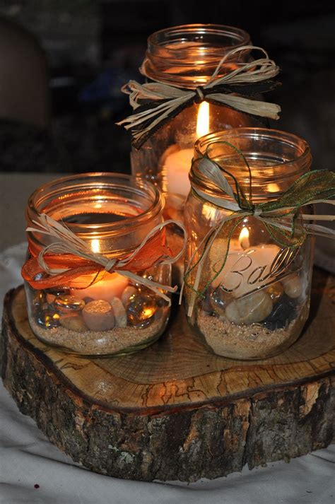 fall centerpieces with jars 1000 images about my rustic country fall wedding on pinterest receptions aisle decorations