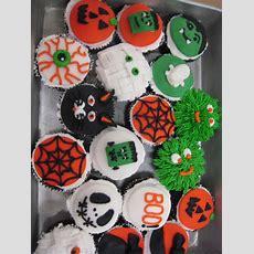 Judy Cakes Sugar Arts Halloween Cupcake Decorating Class