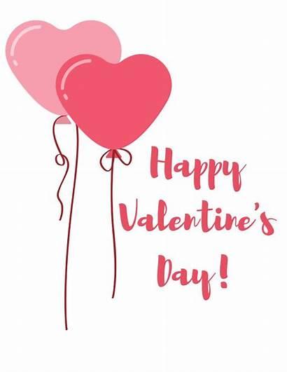 Valentine Printables Happy Card Valentines Wishing Sweetie