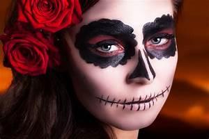 Maquillage Garcon Halloween : comment r aliser un maquillage de catrina pour halloween ~ Farleysfitness.com Idées de Décoration