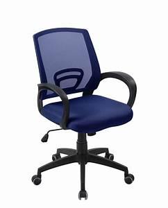 Chaise De Bureau Bleu : flag chaise de bureau confort ~ Teatrodelosmanantiales.com Idées de Décoration