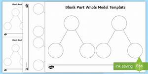 Ks2 Part Whole Model Blank Template