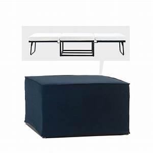 Pouf Convertible Lit : pouf convertible lit tissu jazz by drawer ~ Teatrodelosmanantiales.com Idées de Décoration