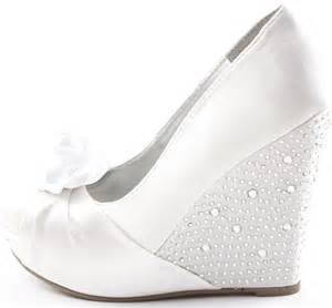 white wedding wedges shoes white wedding wedge shoes designers tips and photo