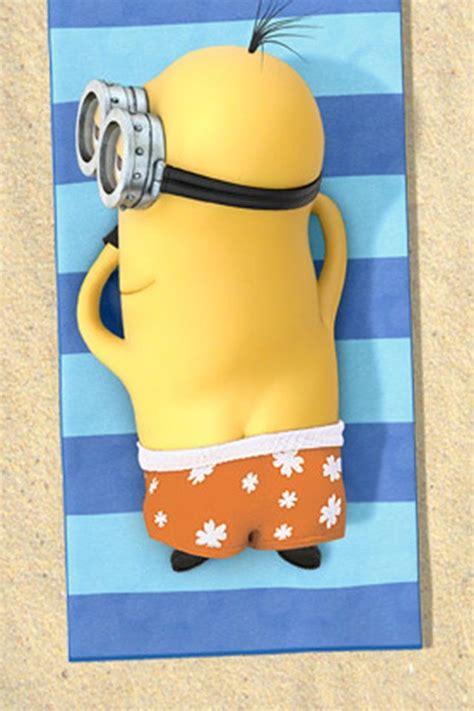 relax minion   beach  minions
