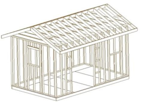 10x16 Shed Plans Pdf by Building Plans For 10x16 Shed How To Build Diy Blueprints