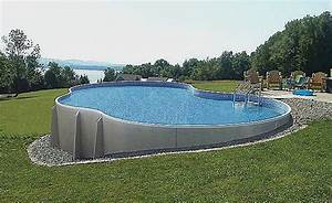 Tarif Piscine Enterrée : piscine semi enterree tarif pour piscine hors sol luxe ~ Premium-room.com Idées de Décoration