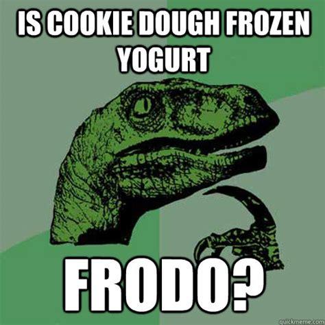 Frozen Yogurt Meme - historical cookie ads memes