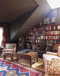 SeekingDecor: Chic Home Library