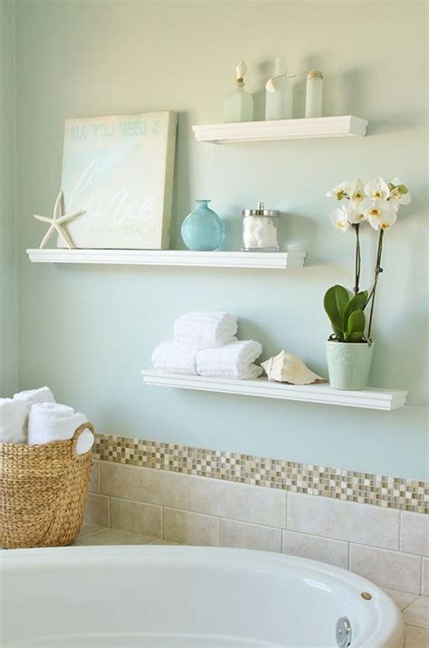 decorating ideas for bathrooms on a budget 35 floating shelves ideas for different rooms digsdigs