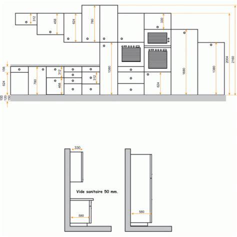 hauteur meubles cuisine hauteur meuble haut cuisine plan de travail evtod
