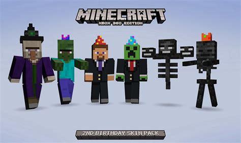 pack anniversaire sur minecraft xbox  edition fr minecraft