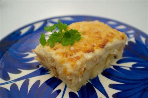 cuisine portugaise morue au four bacalhau com natas morue aux pommes de terre à la