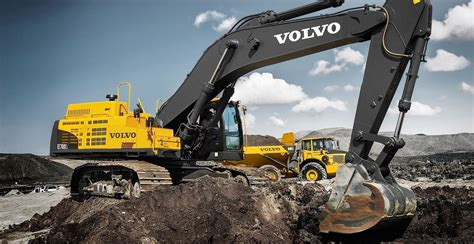 ecc crawler excavators overview volvo