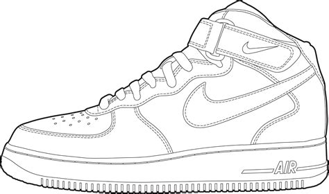 Coloring Nike Air 1 by How To Draw Nike Air 1 Le Du Sgen Cfdt Pour L Ash
