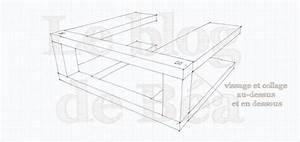 Assembler 2 Planches Perpendiculairement : pas pas chevets en bois de palette partie1 le blog de b a ~ Premium-room.com Idées de Décoration