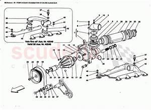 Ferrari 360 Modena Water Pump And Oiuwater Heat Exchanger