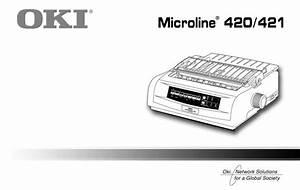 Oki Ml420 User Manual