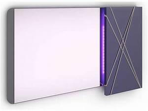 miroir avec kit led integre glam conforama pickture With miroir led intégré