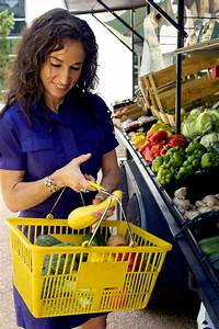 Free Picture  Woman  Choosing  Healthy  Fruits  Vegetables
