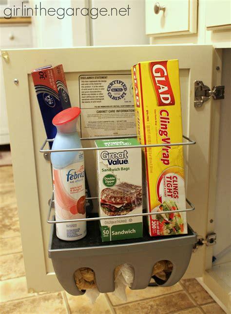 cabinet door organizers kitchen find storage in your home in the garage 174 5054