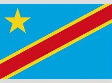 Flag Of The Congo Democratic Republic The Symbol Of