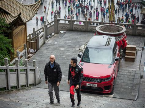 range rover sport phev takes   dragon  earns