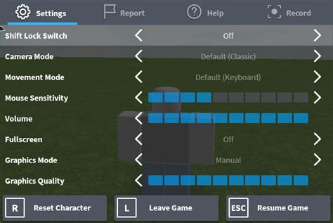 keyboard  mouse controls roblox support