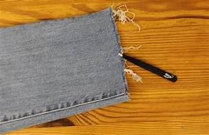 DIY-Anleitung Jeans mit ausgefranstem Saum selber machen | BRIGITTE.de