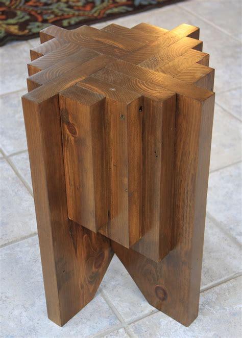 diy cascade stand   scrap lumber wood projects