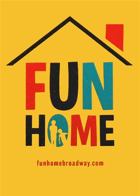 fun home  broadway musical logo magnet fun home