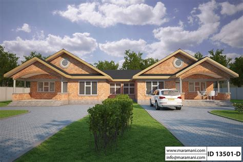 3 Bedroom House Plan ID 13501 House Plans by Maramani