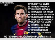 Lionel Messi vs Cristiano Ronaldo Best Footballers
