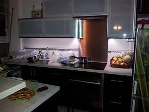 eclairage led d39un plan de travail 57 messages With lumiere plan de travail cuisine