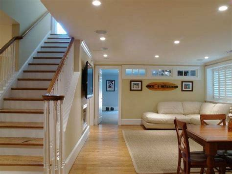 Basement Recessed Lighting in Warm Look   Jeffsbakery