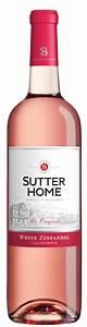 White Zinfandel Sutter Home Family Vineyards