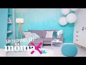 Wand Stellenweise Streichen : w nde streichen wandgestaltung ombr look m max beratung youtube ~ Watch28wear.com Haus und Dekorationen