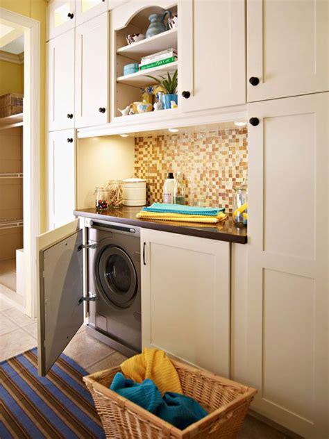 stylish  hidden laundry room designs home design