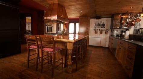 comptoir cuisine chêtre ébénisterie modèle réalisation et conception