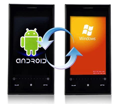 on android phone szenario android apps auf windows phone installieren