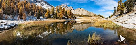Lac Miroir, Ceillac, Queyras, Hautes-Alpes - Herve Sentucq ...
