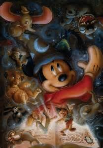 Mickey Mouse Fantasia Disney