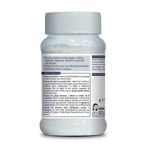 bicarbonate de soude cuisine bicarbonate de soude starwax produits d entretien maison