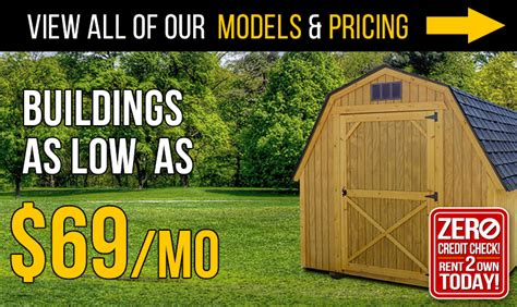 rent to own sheds in pa rent to own sheds and buildings backyard outfitters