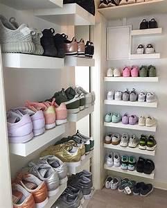 Placard à Chaussures : un dressing pour mes chaussures pour d corer en 2018 pinterest chaussure soulier et ~ Teatrodelosmanantiales.com Idées de Décoration